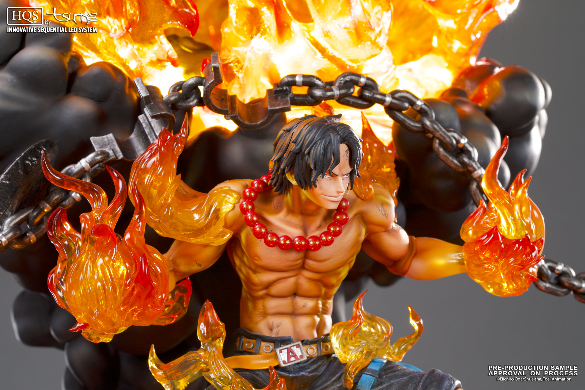 D Exhibition One Piece : Portgas d ace hqs by tsume figurine one piece