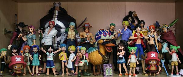 [TUTO] Les différentes gammes de Figurines One Piece