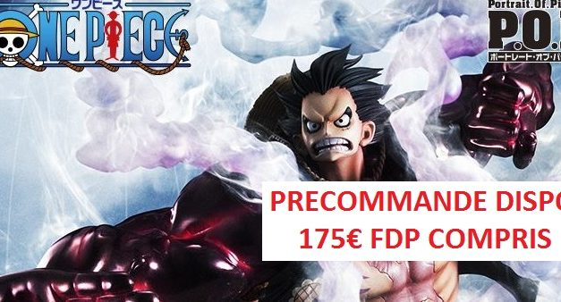 BON PLAN FIGURINE : POP Luffy Gear 4th de MegaHouse a 175€ !