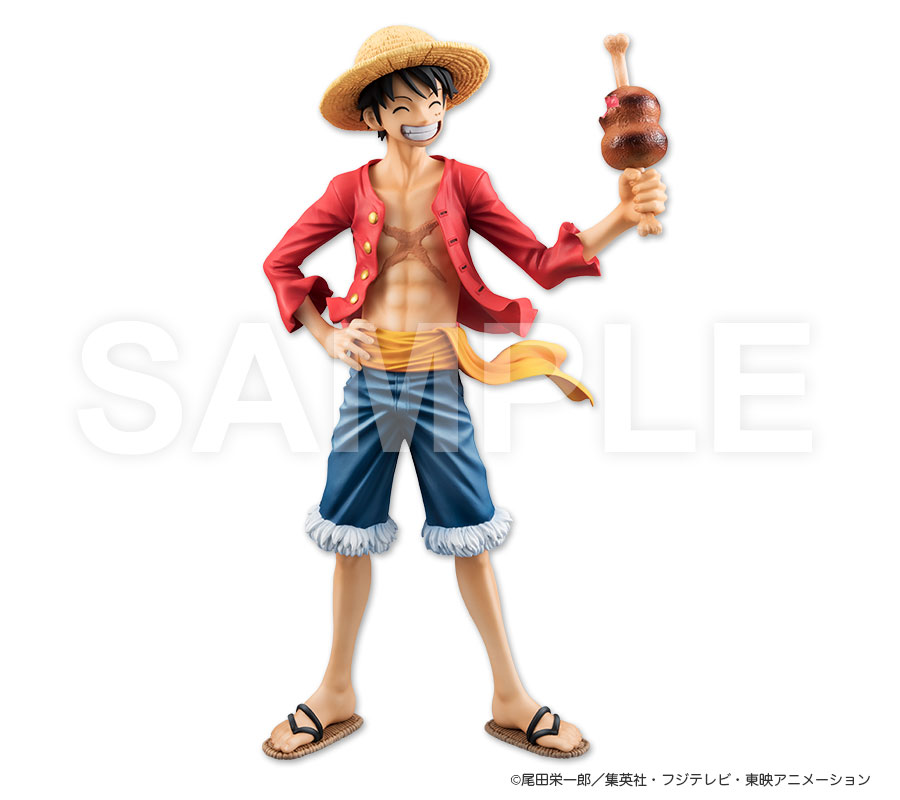 luffy portrait of pirates limited edition 20th. Black Bedroom Furniture Sets. Home Design Ideas