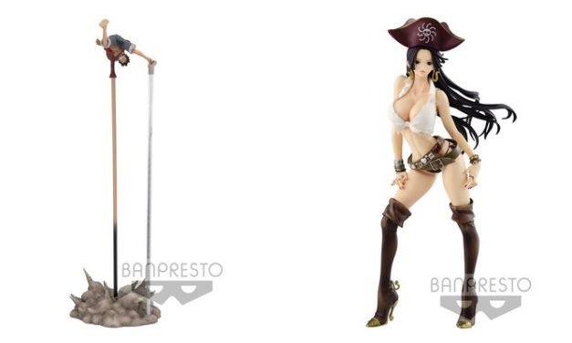 NEWS FIGURINE – Luffy & Boa en nouvelles gammes : Flag Diamond Ship & Naga Zoukei