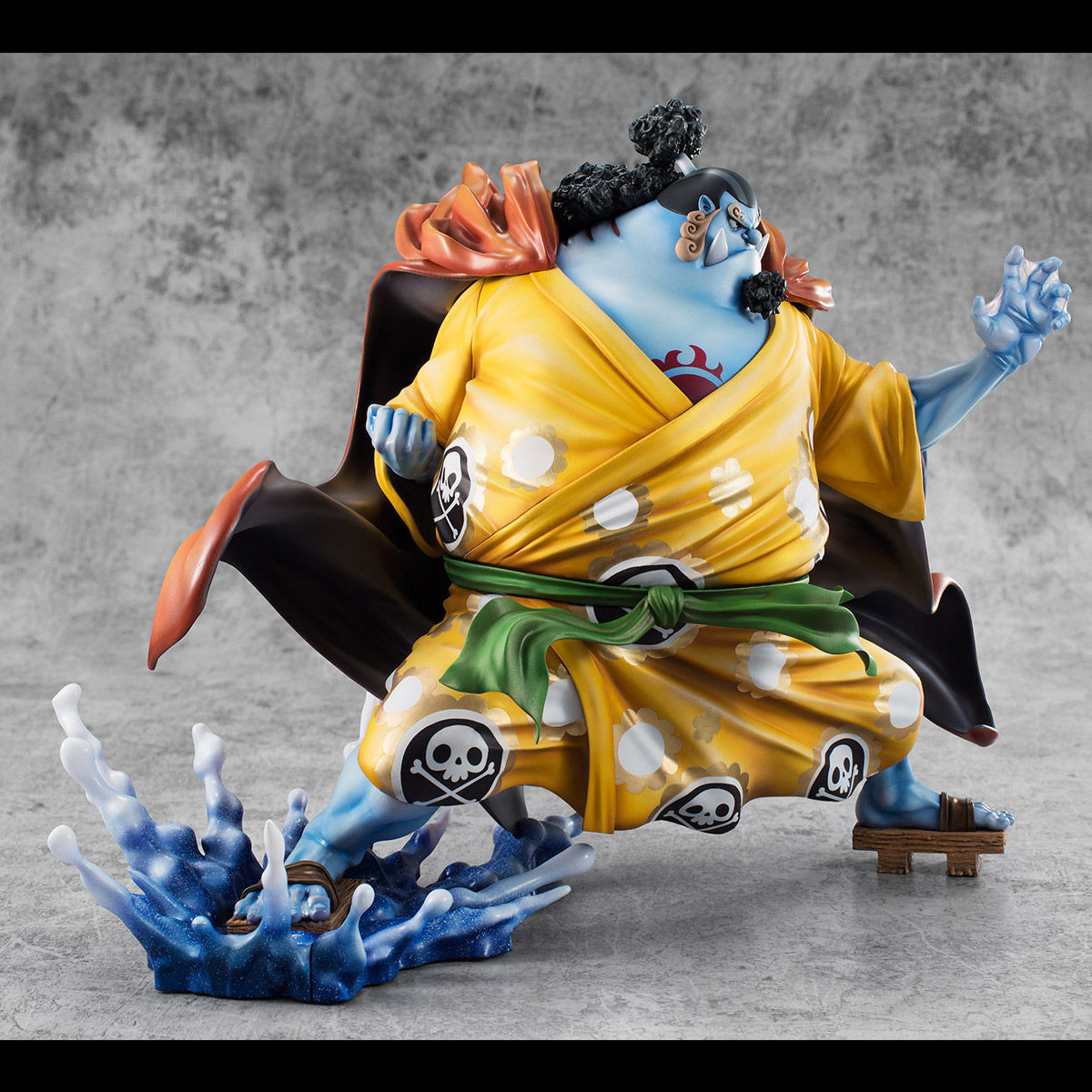 jinbei portrait of pirates sa maximum megahouse figurine one piece. Black Bedroom Furniture Sets. Home Design Ideas