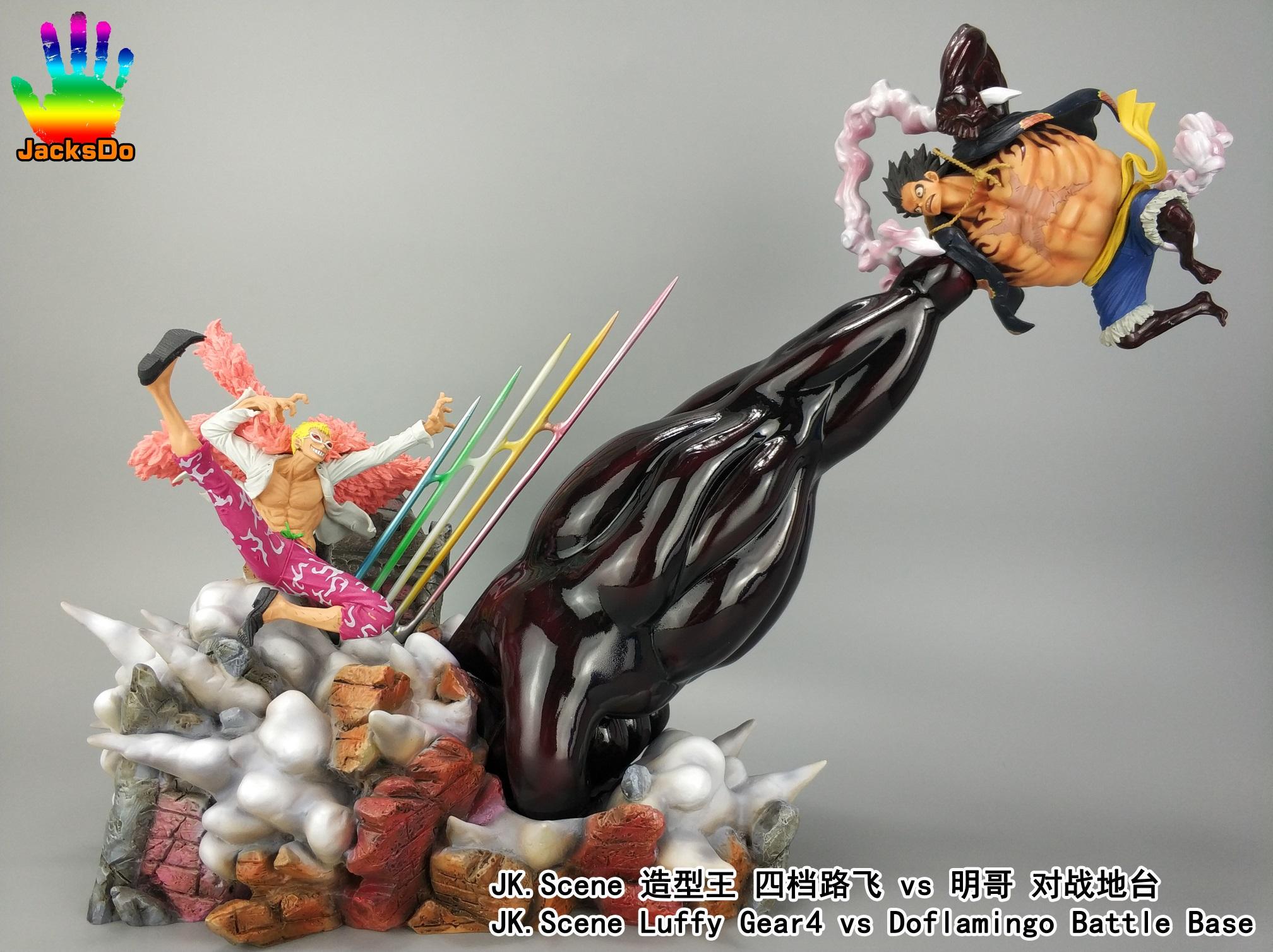 one piece luffy vs magellan figurine