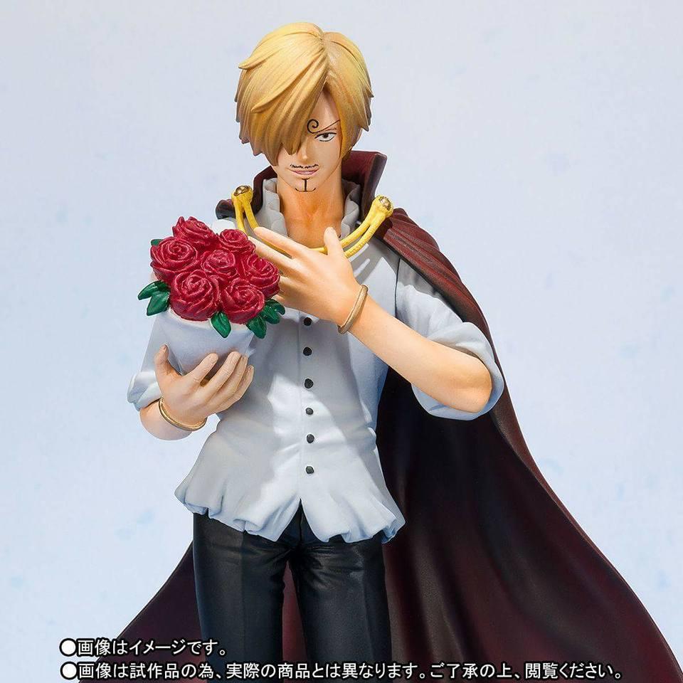 Sanji Figuarts Zero Whole Cake Island Bandai Figurine One Piece