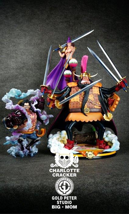 Cracker Gold Peter Studio Resine Figurine One Piece