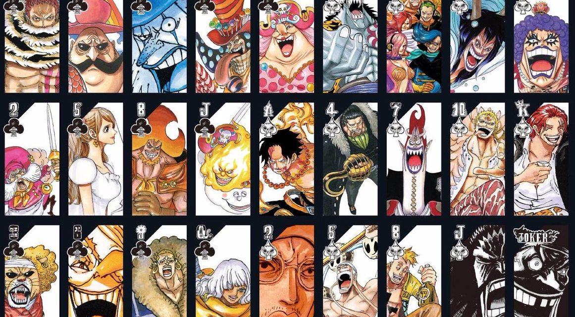 Complétez votre collection de figurines avec des cartes à jouer One Piece