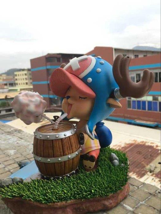 Chopper Taille Reelle Sky Fire Studio Resine Figurine One Piece