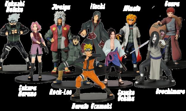 Collectionner des figurines de Naruto